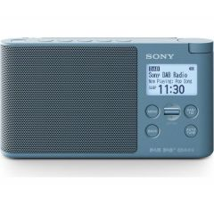 Sony XDRS41DL.CEK DAB/DAB+/FM Radio Blue Mains or Battery
