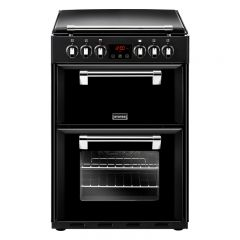 Stoves R600EB Richmond 60cm Black Electric Range Cooker (444444720)