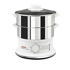 Tefal VC145140 Steamer with 2 Stainless Steel Bowls