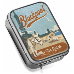 Tinamps Blackpool speaker in a tin