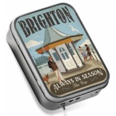 Tinamps Brighton speaker in a tin