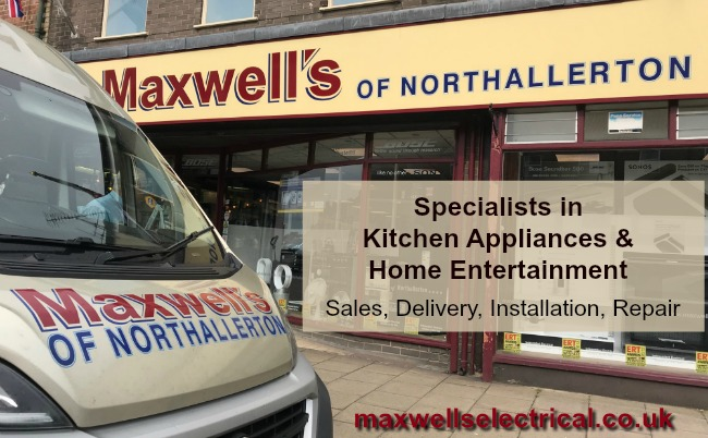 Maxwells of Northallerton Shop front and Van